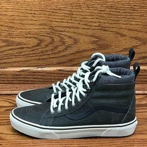bc883fee80bd58 Vans Shoes - Vans Sk8 Hi MTE Charcoal Herringbone Suede Shoes